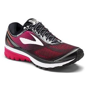 Brooks ghost 10 pink black running shoes 8.5